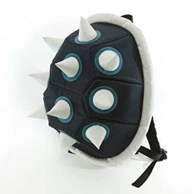 Blue Spike Shell Backpack Bookbag