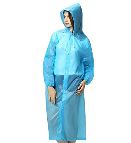 Find Discount Benran Raincoat Rain Poncho Portable Bicycle Bike Rain Coat Hooded Emergency Rain Ponc...