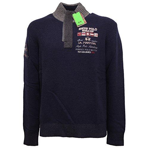 7061q-maglione-uomo-la-martina-regular-fit-lana-blu-sweater-men-xxl