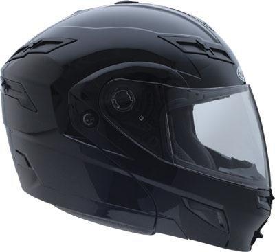 G-Max Gm54S Modular Snowmobile Helmet , Color: Black, Size: Lg 254026