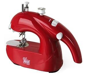 Rex Mini Sewing Machine Red