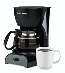 Mr. Coffee DR5 4-Cup Coffeemaker, White from Mr. Coffee