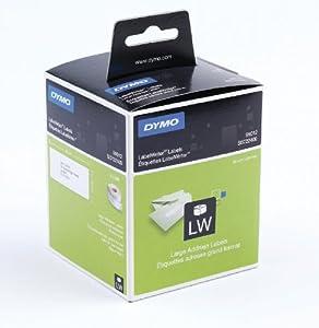 Dymo LabelWriter-Adress-Etiketten groß, 2 Rollen à 260 Etiketten