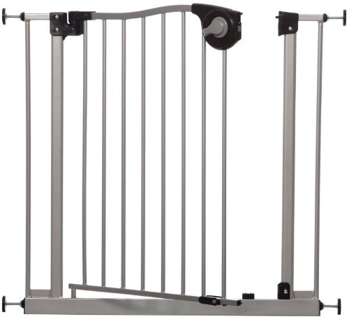 Dreambaby Magnetic Sure Close Gate, Silver