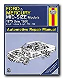 Haynes Manual - Ford & Mercury Mid-Size Sedans 75-86