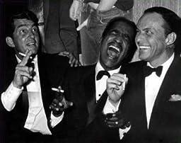 Photo Rat Pack Sammy Davis Dean Martin Frank Sinatra