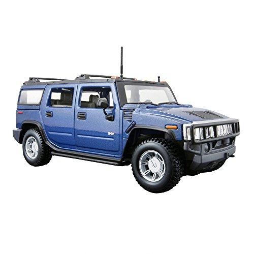 Maisto 31231 - Hummer H2 SUV 01:27 03 (colori assortiti)