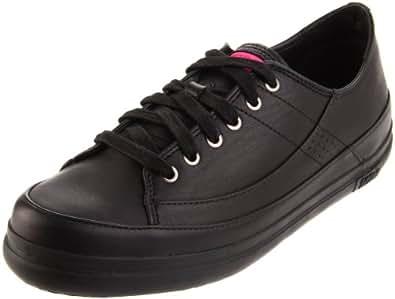 FitFlop Women's Supertone Fashion Sneaker,Black,5 M US