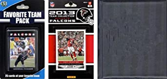 NFL Atlanta Falcons Licensed 2013 Score Team Set and Favorite Player Trading Card... by C&I Collectables
