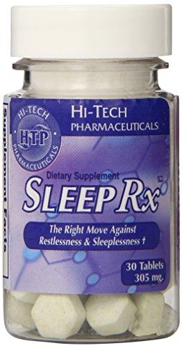Hi-Tech Pharmaceuticals Sleep Rx Capsules, 30 Count