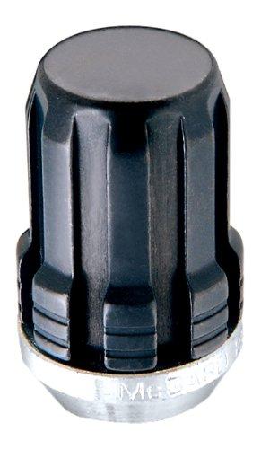 McGard 65354BK Chrome/Black SplineDrive Lug Nuts (M12 x 1.25 Thread Size) - Set of 4