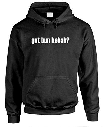 Got Bun Kebab? - Mens Pullover Hoodie, S, Black
