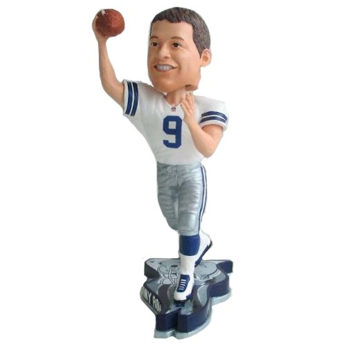 Tony Romo Dallas Cowboys 2013 NFL Pennant Base Bobblehead at Amazon.com