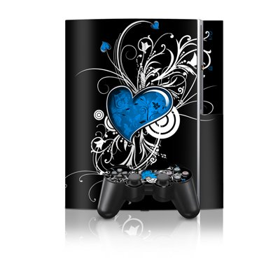 Your Heart Design Protector Skin Decal Sticker for PS3 Playstation 3 Body Console
