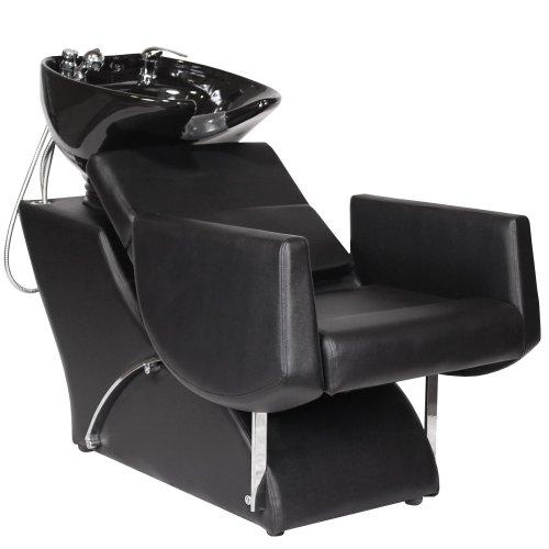 Affordable euro salon shampoo backwash unit bowl chair su for Salon shampoo chairs