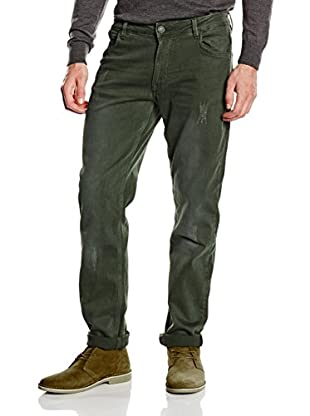 Springfield Vaquero Wh Skinny Washed 5 Pkts (Verde Oscuro)
