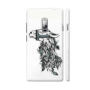 Colorpur Poetic Llama Artwork On OnePlus 2 Cover (Designer Mobile Back Case) | Artist: LouJah