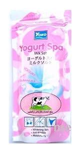 Yoko Yogurt Spa Milk Salt Yogurt Vitamin B3 Colagen Vitamine Bath Body Whitening Free Shipping Made From Thailand