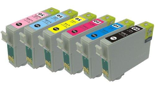 EPSON IC6CL50(エプソンプリンター用互換インク)】汎用インクカートリッジ 6色セット