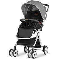 Besrey BR-C703S Lightweight Foldable Baby Stroller with Storage Basket