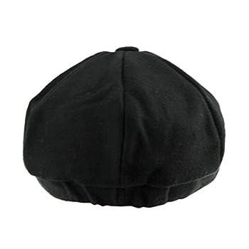 Unisex Winter Warm Baker Boy Newsboy Flat Cap Cheviot Tweed Beret Ivy Cabbie Cap Hat