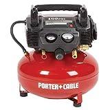Porter-Cable C2002R Oil-Free UMC Pancake Compressor (Certified Refurbished) (Tamaño: Small)