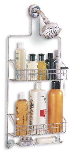 Better Houseware Deluxe Chrome Shower Caddy