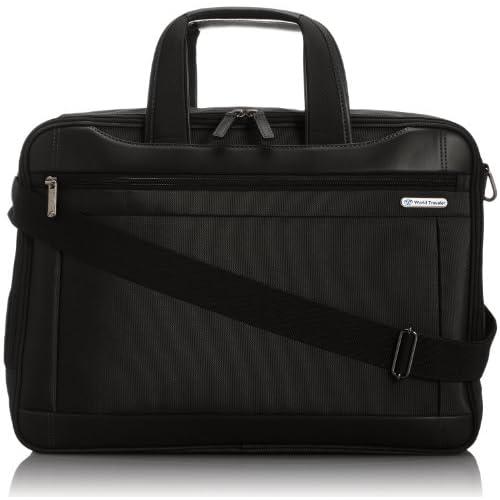 [ワールドトラベラー] World Traveler ワールドトラベラー ライリー ビジネスバッグ 43483 01 (ブラック)