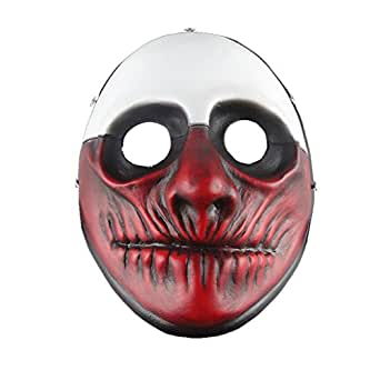 Fashion Party Mask,SALICO Quality Resin Payday 2 Wolf Masquerade Costume Mask