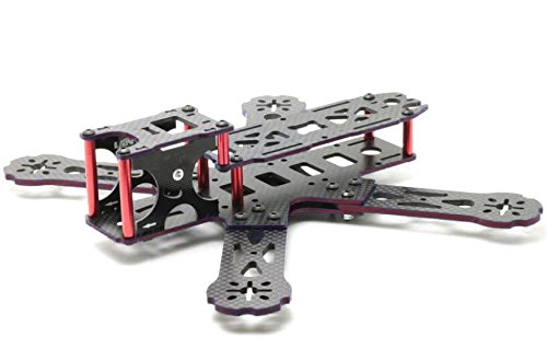 Usmile® X design 215mm Carbon Fiber Frame Kit for FPV racing Easy to replace broken arm