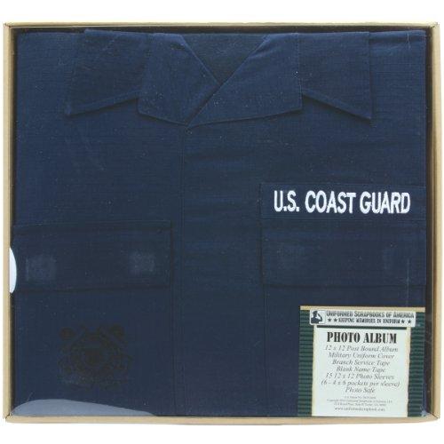 Uniformed U.S. Coast Guard Photo Album