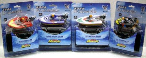 Radio Controlled RC Mini Micro Palm Sized Bath Time Racing R/C Speedboat
