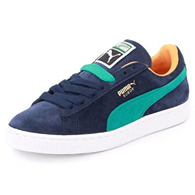 Puma Suede Classic 352634 70 Womens Laced Suede Trainers Peacoat - 3