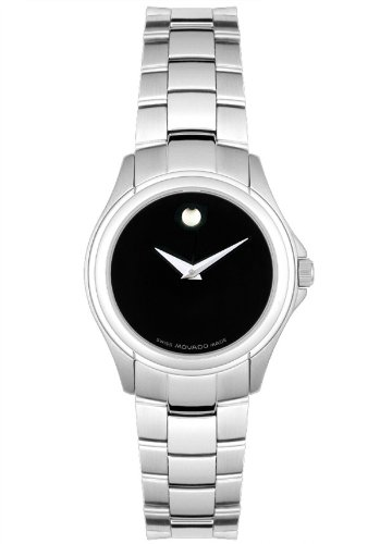 MOVADO Watch:Movado 605757 Women's Swiss Military Watch Stainless Steel Watch Images