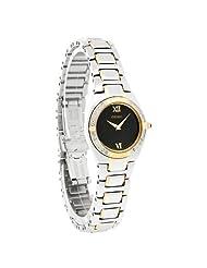 Seiko Women's SUJF10 Diamond Two-Tone Watch