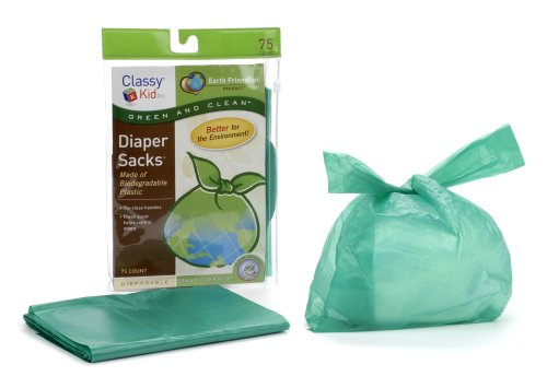 Classy Kid Keep Me Tidy Biodegradable Diaper Sack - Pack Of 75