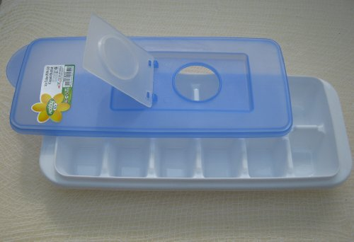 Easy Fill Ice Cube Tray with Hygienic Lid