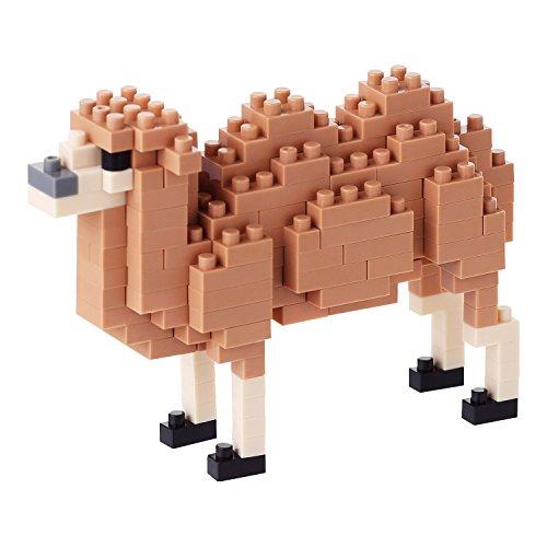 Kawada NanoBlock - NBC-139 - Bactrian Camel Micro Block Miniature Collection Puzzle (160 Piece) - 1