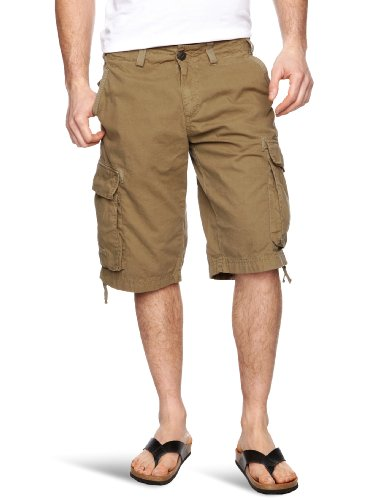 Cottonfield Faruk_S Men's Shorts Dark Olive W30 IN