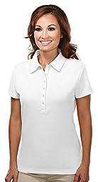 Tri-Mountain 103 Stamina Golf Shirt - WHITE - 2XL