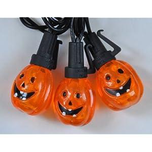 Orange Halloween Pumpkin LED Lights