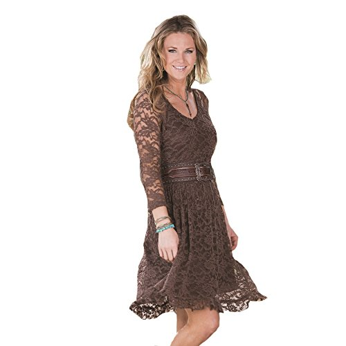 Lucky Cowgirl Lace Dress, Large