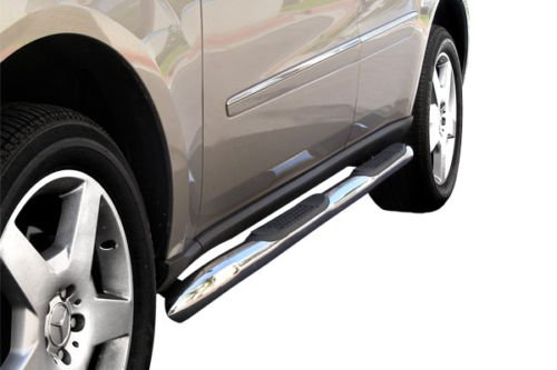 """Black Steel Straight 5/"""" Wide Step Running Board For 98-01 Ram 1500 Extended"""