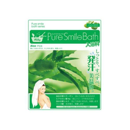 Pure Smile Bath アロエ12枚セット