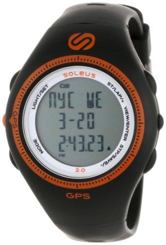 Soleus Men'S Sg002030 Black And Orange Gps Watch front-769823