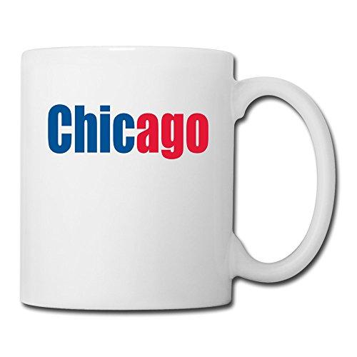 BEDOO Chicago Logo Coffee Cups White