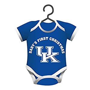 Kentucky Wildcats Official NCAA 4 inch x 3 inch Baby Shirt Ornament by Evergreen
