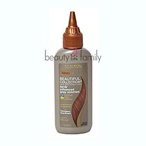 Clairol Professional Beautiful Collection Advanced Gray Solution Hair Color, Mahogany Red Brown