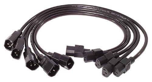 APC AP9890 0.6m C13 to C14 Power Cord Kit - 5 Pack (Apc Power Unit compare prices)