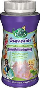 Disney Fairies Gummies Multivitamin, 180 count